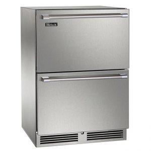 Perlick 24 Inch Signature Series Outdoor Refrigerator Drawers