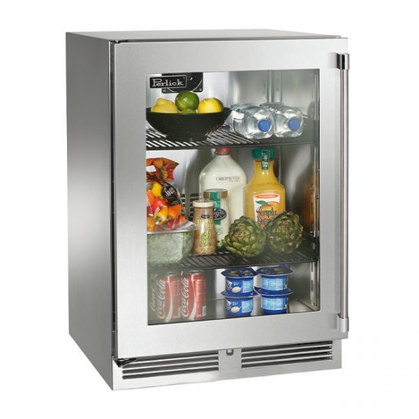 Perlick 24 Inch Signature Series Outdoor Refrigerator