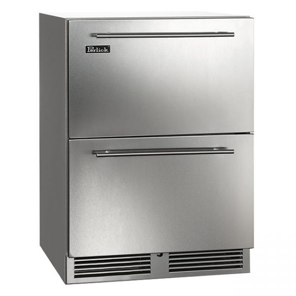 Perlick 24 Inch C-Series Outdoor Refrigerator Drawers