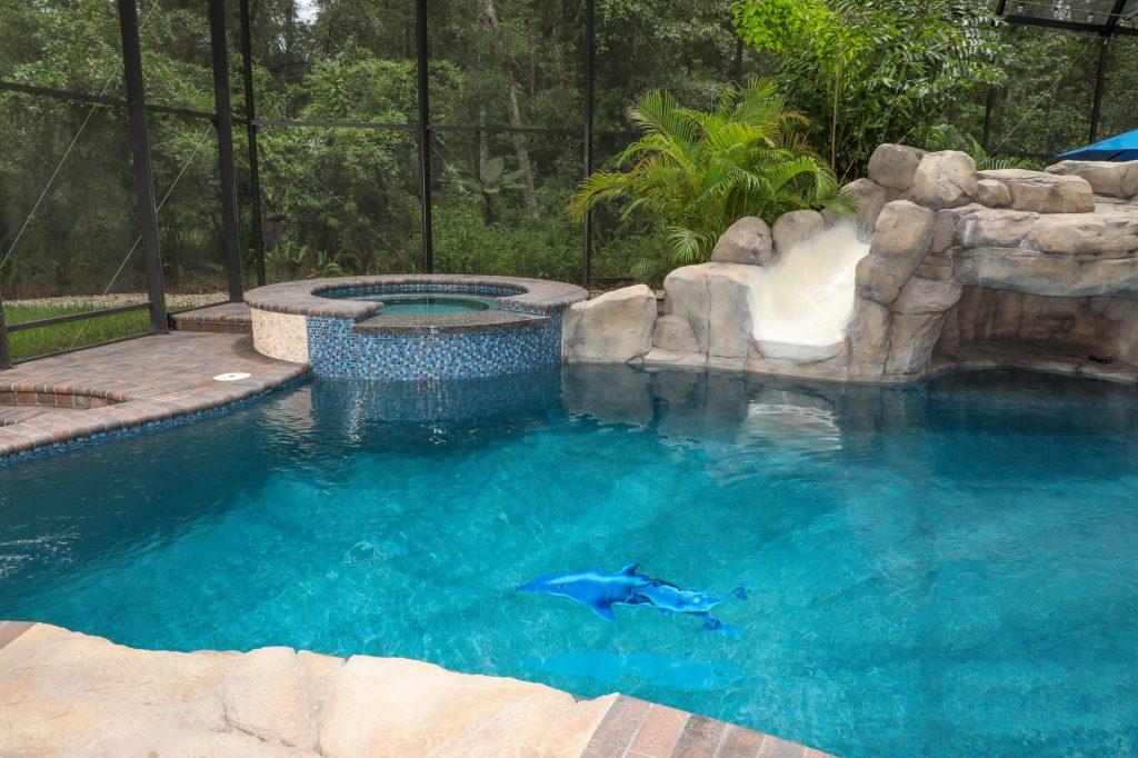 Pool Spa Stonework