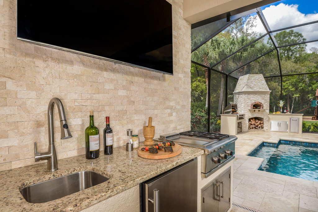 2017 Winner Tampa Bay Parade Of Homes Best Outdoor Kitchen