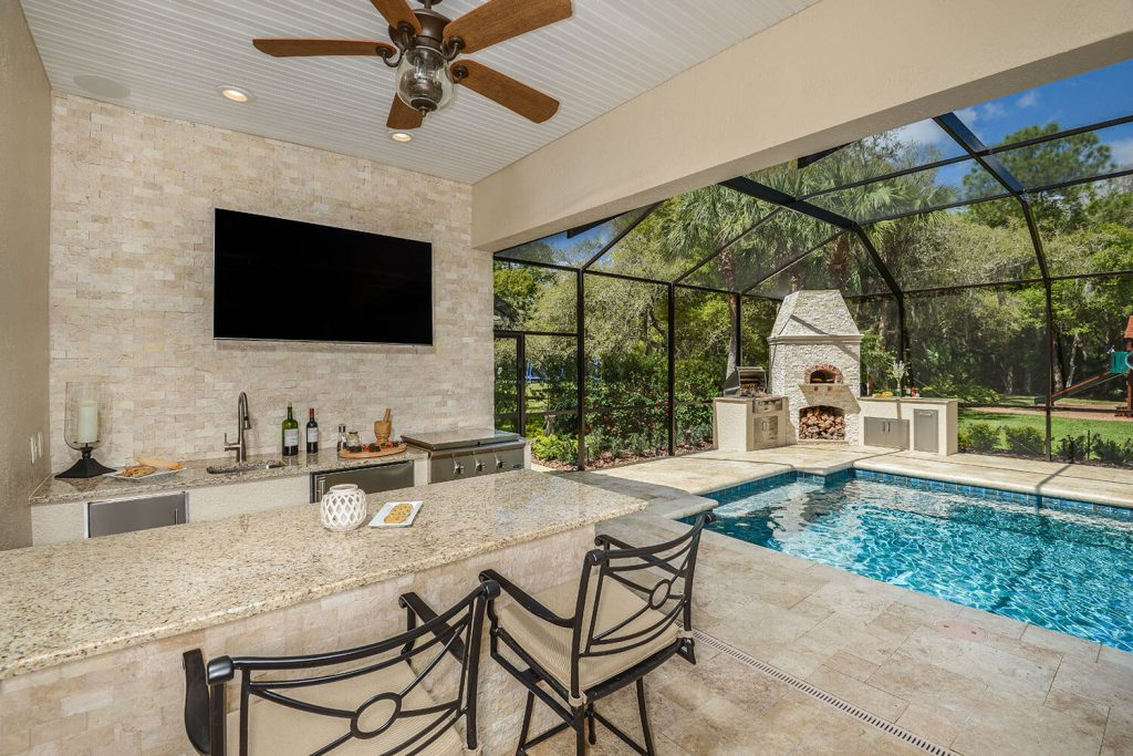 2017 Winner Tampa Bay Parade of Homes Best Outdoor Kitchen ...