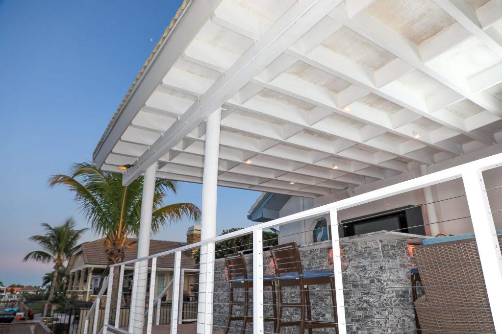 Pergola To Roof Extension
