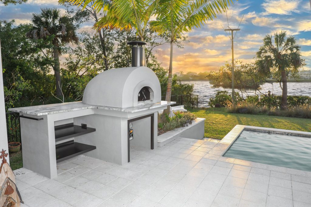Custom Outdoor Pizza Oven | Just Grillin Outdoor Living | Palm Harbor, Florida