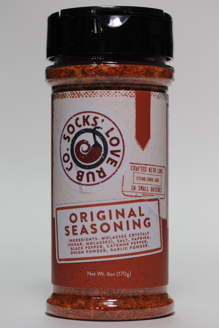 Socks Love Rub Original Seasoning Just Grillin Outdoor