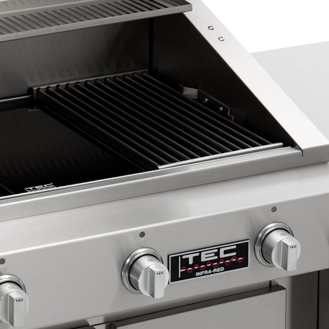 Tec Grills 44 Inch Searmaster Hoodless Infrared Gas Grill