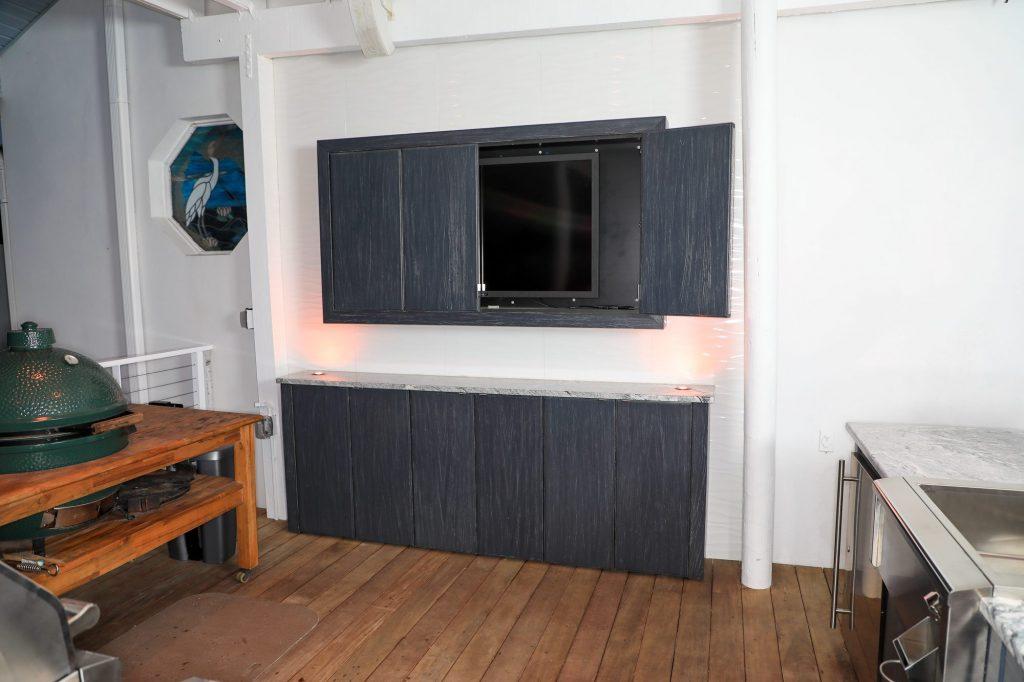 Outdoor Kitchen TV Cabinet