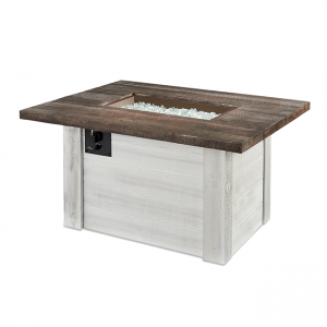 The Outdoor Greatroom Company Alcott Rectangular Gas Fire Pit Table