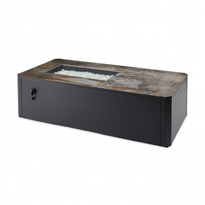 The Outdoor Greatroom Company Kinney Linear Gas Fire Pit Table