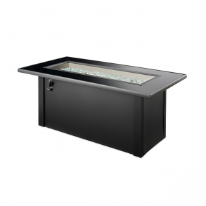 The Outdoor Greatroom Company Monte Carlo Linear Gas Fire Pit Table