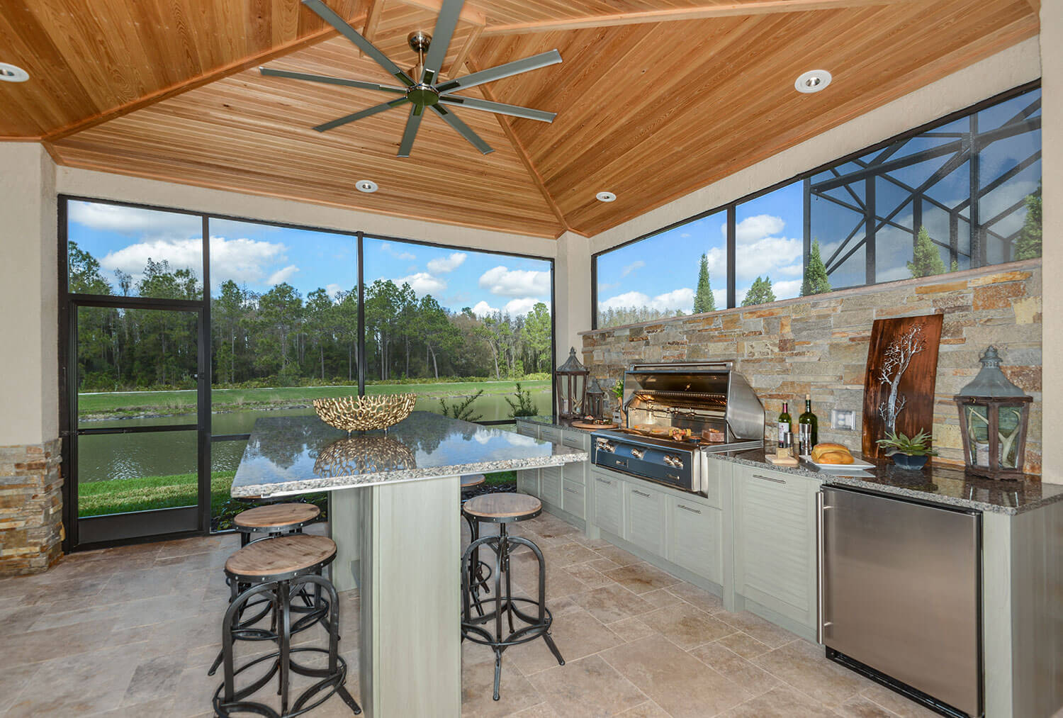2018 Winner Tampa Bay Parade Of Homes Best Outdoor Kitchen