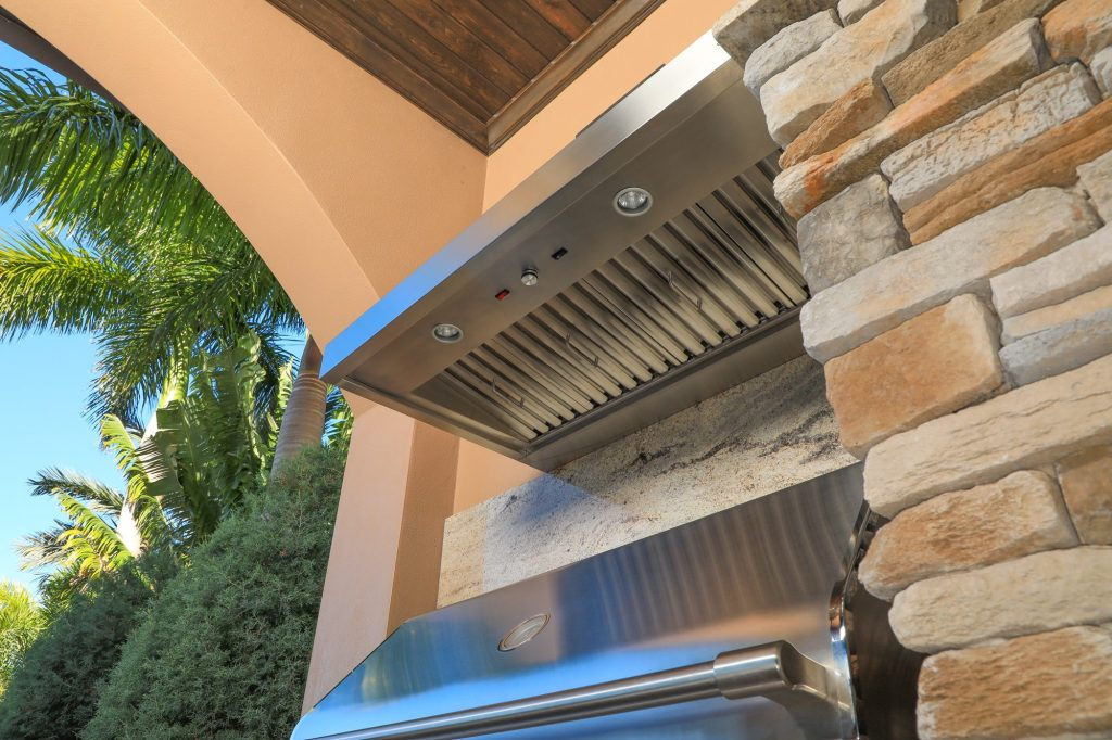 Coyote Outdoor Vent Hood Outdoor Kitchen