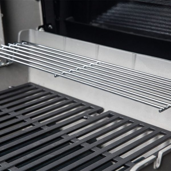 small gas grill warming rack