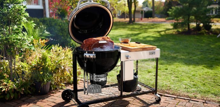 Weber Summit Kamado S6 Charcoal Grilling Center