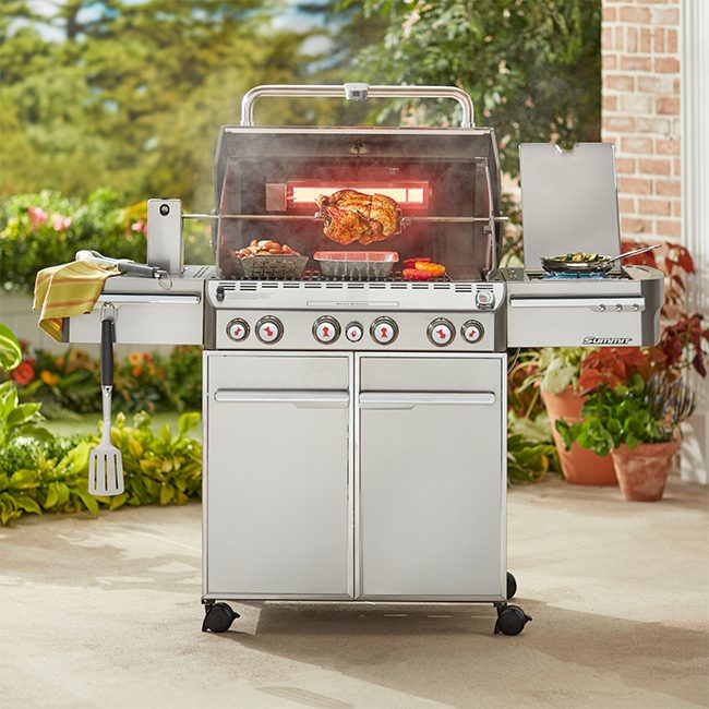 Weber Summit Gas Grill Just Grillin Outdoor Living