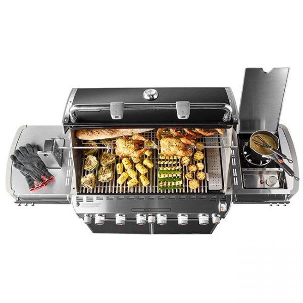 weber 6 burner gas grill