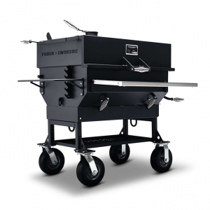 Yoder Smokers Adjustable Flat Top Charcoal Grill 24 x 36 Inch