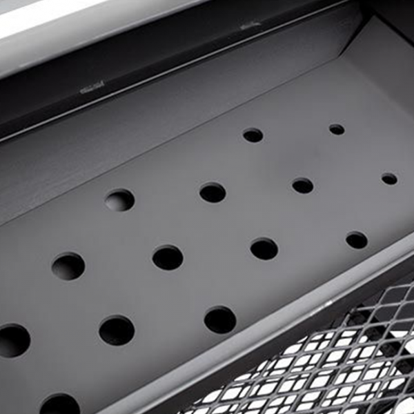 yoder smokers offset smoker heat management plate