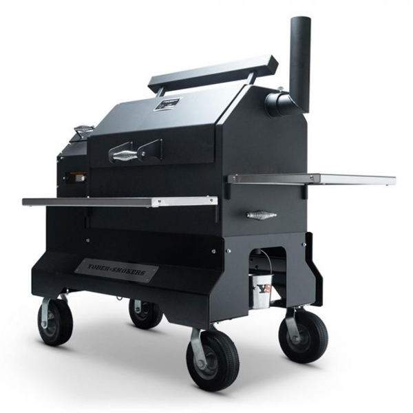 yoder smokers ys640s comp cart pellet grill