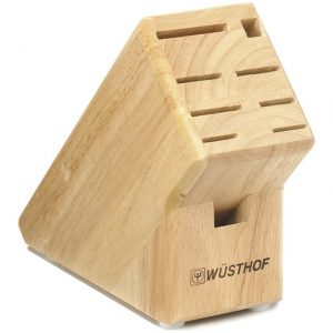 Wüsthof 9-Slot Knife Wood Block